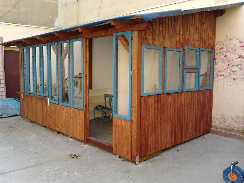 mal veranda chatka i st nek stavebn bazar. Black Bedroom Furniture Sets. Home Design Ideas