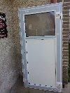 Plastové víceúčelové dveře 198/98cm bílé nové Nabídka Okna a dveře