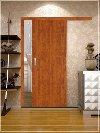 Nejlevnější laminátové posuvné dveře na stěnu Obrázek